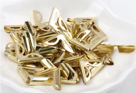 Cantoneira Arabesco prata, dourada ou rose gold