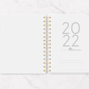 Life Planner A5 2022 datado