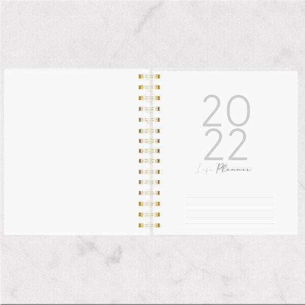 Large Planner 18x21 - Datado 2022